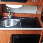 Galley of Rinker 270 Fiesta Vee