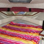 1985 Sea Ray 30 Weekender Sleeping