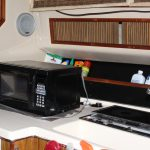 1985 Sea Ray 30 Weekender Kitchen